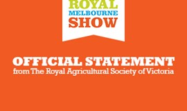 2020 Royal Melbourne Show Cancelled due to COVID-19
