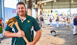 2018 Woodchop Champion announced